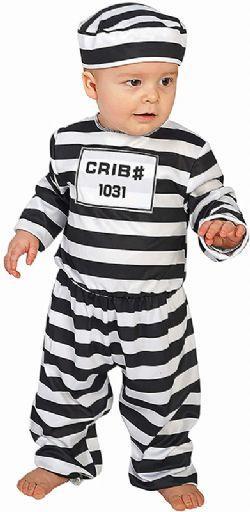POLICIERS ET BANDITS -  COSTUME DE PRISONNIER (JEUNE ENFANT)