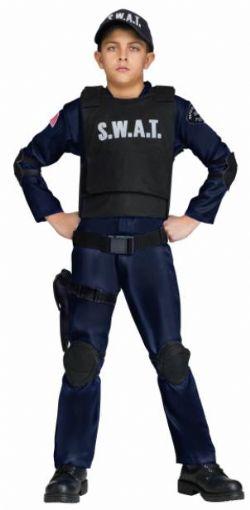 POLICIERS ET BANDITS -  COSTUME DE S.W.A.T. (ENFANT)