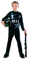 POLICIERS ET BANDITS -  COSTUME DE SWAT (ENFANT)