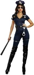 POLICIERS ET BANDITS -  COSTUME DU LIEUTENANT IVANA GRIVOISE (ADULTE)