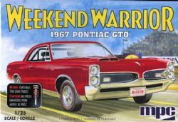 PONTIAC -  PONTIAC GTO 1967 1/25 (MOYEN)