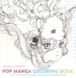 POP MANGA -  COLORING BOOK