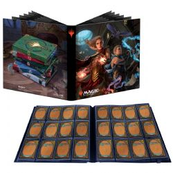 PORTFOLIO 12 POCHETTES -  MTG - 20 PAGES - PRO-BINDER - WILL AND ROWAN - 480 -  STRIXHAVEN SCHOOL OF MAGES
