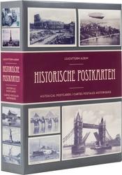 POSTCARDS -  ALBUM POSTCARDS POUR 200 CARTES POSTALES HISTORIQUES ET PHOTOS