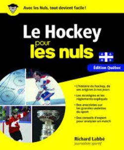 POUR LES NULS -  LE HOCKEY