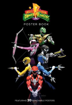 POWER RANGERS -  20 REMOVABLE POSTERS 'THE DEFINITIVE MOVIE POSTERS' -  MIGHTY MORPHIN POWER RANGERS