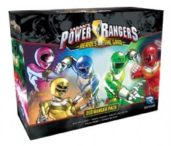 POWER RANGERS : HEROES OF THE GRID -  ZEO RANGER PACK (ANGLAIS)
