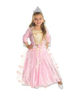 PRINCESSE -  COSTUME DE PRINCESSE ROSE (ENFANT)