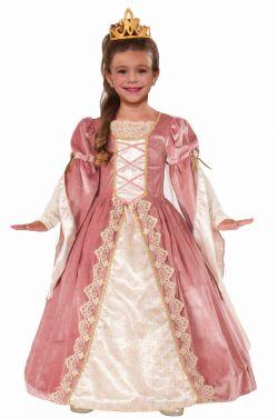 PRINCESSE -  COSTUME DE ROSE VICTORIENNE (ENFANT)
