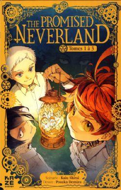 PROMISED NEVERLAND, THE -  COFFRET EN 3 VOLUMES : TOMES 1 À 3 (V.F.)