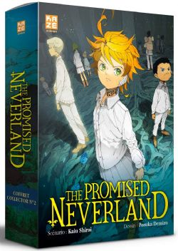 PROMISED NEVERLAND, THE -  COFFRET (ROMAN ET TOME 12) (V.F.)