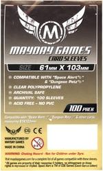 PROTECTEURS DE CARTE -  POCHETTES POUR JEU (100) (61 MM X 103 MM) -  MAYDAY GAMES