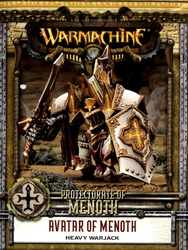 PROTECTORATE OF MENOTH -  AVATAR OF MENOTH - HEAVY WARJACK -  WARMACHINE