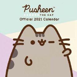 PUSHEEN -  CALENDRIER OFFICIEL 2021