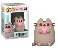 PUSHEEN -  FIGURINE POP! EN VINYLE DE PUSHEEN WITH HEART (10 CM) 26