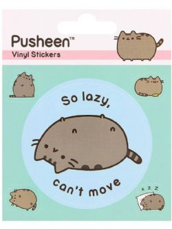 PUSHEEN -  SO LAZY CAN'T MOVE - AUTOCOLLANT
