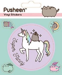 PUSHEEN -  SUPER FANCY - AUTOCOLLANTS