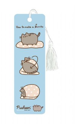 PUSHEEN THE CAT -  SIGNET DE COMMENT FAIRE UN PURRITO
