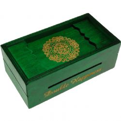 PUZZLE MASTER -  DOUBLE HAPPINESS PUZZLE BOX - BANK