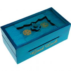 PUZZLE MASTER -  GOOD LUCK PUZZLE BOX - BANK