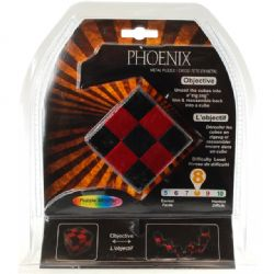 PUZZLE MASTER -  PHOENIX METAL PUZZLE - DIFFICULTY LEVEL 8/10 - MINIMUM ORDER - 6 PCS
