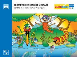 QUICKCHECK -  GÉOMÉTRIE ET SENS DE L'ESPACE (FRANÇAIS) -  MATERNELLE