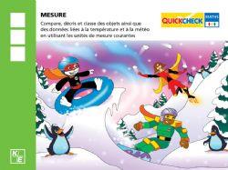 QUICKCHECK -  MESURE (FRANÇAIS) -  3E ANNÉE