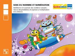 QUICKCHECK -  SENS DU NOMBRE ET NUMÉRATION (FRANÇAIS) -  2E ANNÉE