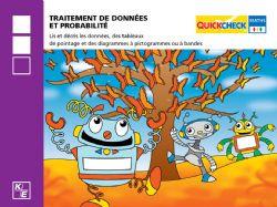 QUICKCHECK -  TRAÎTEMENT DES DONNÉES ET PROBABILITÉ (FRANÇAIS) -  2E ANNÉE