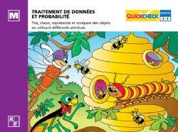 QUICKCHECK -  TRAÎTEMENT DES DONNÉES ET PROBABILITÉ (FRANÇAIS) -  MATERNELLE
