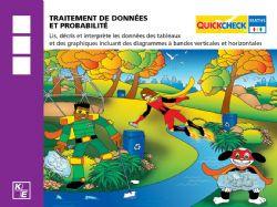 QUICKCHECK -  TRAITEMENT DE DONNÉES ET PROBABILITÉ (FRANÇAIS) -  3E ANNÉE