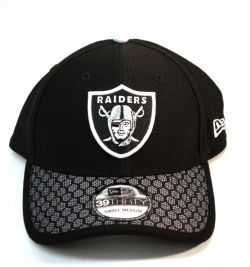 RAIDERS D'OAKLAND -  CASQUETTE AJUSTABLE