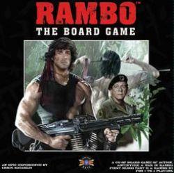 RAMBO : THE BOARD GAME (ANGLAIS)