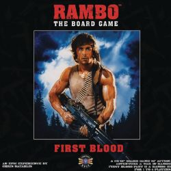 RAMBO THE BOARD GAME: FIRST BLOOD (ANGLAIS)