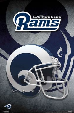 RAMS DE LOS ANGELES -  AFFICHE