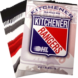 RANGERS DE KITCHENER -  (22 CARTES) -  2014-15