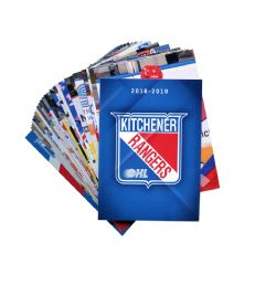 RANGERS DE KITCHENER -  (25 CARTES) -  2018-19