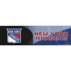 RANGERS DE NEW YORK -  AUTOCOLLANT DE PARE-CHOC