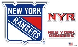 RANGERS DE NEW YORK -  ENSEMBLE D'AIMANTS
