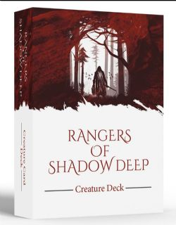RANGERS OF SHADOW DEEP -  CREATURE CARD DECK (ANGLAIS)