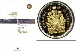 RAPPORT ANNUEL -  CONTRE VENTS ET MAREES -  PIÈCES DU CANADA 2006 04