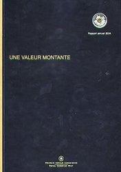RAPPORT ANNUEL -  UNE VALEUR MONTANTE -  PIÈCES DU CANADA 2004 02