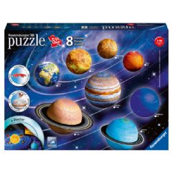 RAVENSBURGER -  8 PLANÈTES (522 PIÈCES) -  CASSE-TÊTE 3D