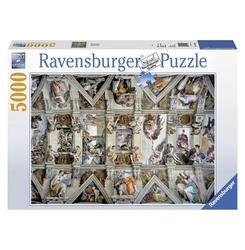RAVENSBURGER -  CHAPELLE SIXTINE (5000 PIÈCES)