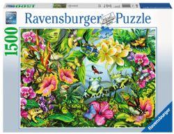 RAVENSBURGER -  CHERCHE ET TROUVE LES GRENOUILLES (1500 PIÈCES)