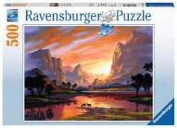 RAVENSBURGER -  CRÉPUSCLE TRANQUILLE (500 PIÈCES)