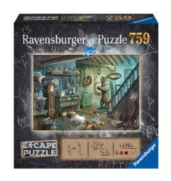 RAVENSBURGER -  DANS LA CAVE DE L'EFFROI (759 PIECES) -  ESCAPE PUZZLE