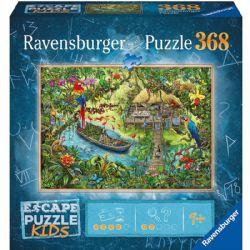 RAVENSBURGER -  EXPÉDITION DANS LA JUNGLE (368 PIECES) -  ESCAPE PUZZLE KIDS