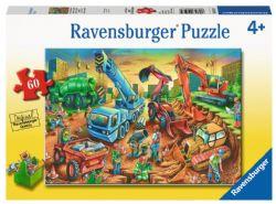 RAVENSBURGER -  L'ÉQUIPE DE CONSTRUCTION (60 PIECES ) - 4+