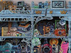 RAVENSBURGER -  L'ÉVOLUTION DE L'APPAREIL PHOTO (300 PIÈCES)